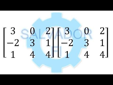 Multiplicación de Matrices 3x3 [Producto Matricial] - Salvador FI