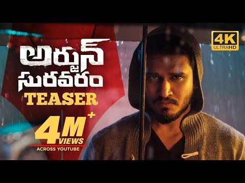 Arjun Suravaram - Movie Trailer Image
