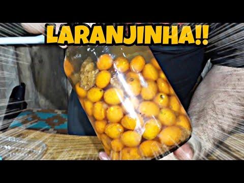Licor de Laranjinha e Mel
