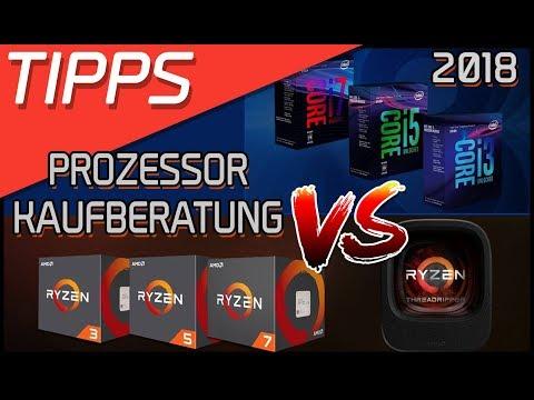 AMD VS INTEL - CPU/Prozessor Kaufberatung 2018 | Intel Core i VS AMD Ryzen | DasMonty - Deutsch