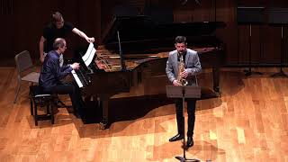 Niebla y Cemento. Mario Herrerías. Para Saxofón alto y piano. Antonio Jesús Hernández Carmona