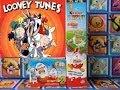 ✌Kinder Surprise Eggs Unwrapping Looney Tunes 5 Surprise Eggs