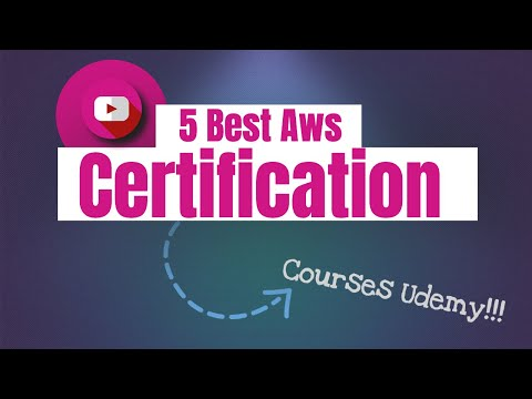 5 Best Aws Certification Courses Udemy - YouTube