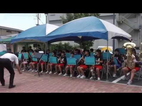 第7回大橋ふうりん祭 行橋中学校 吹奏楽部