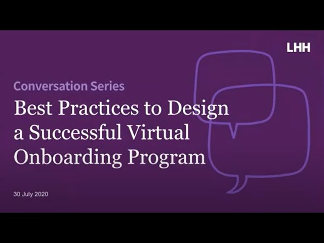 Best Practices to Design a Successful Virtual Onboarding Program