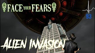 Alien Invasion - Face Your Fears VR w/Hear Rate Monitor