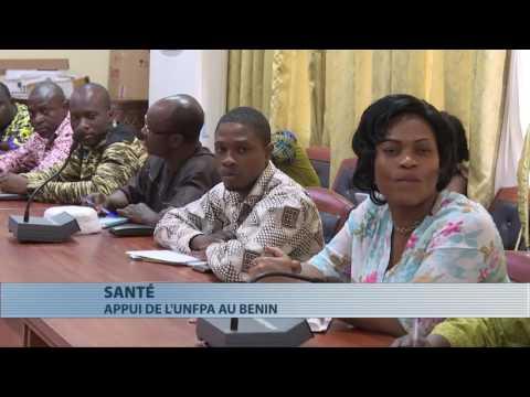 l'Unfpa donne du matériel aux centres de santé du Bénin