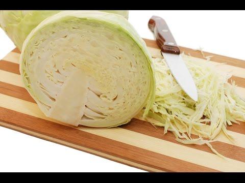 Нарезка , шинковка капусты ножом.Как правильно нарезать капусту?