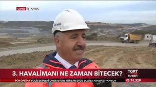 Ahmet Arslan - İstanbul Yeni Havalimanı'nda Tgrt Haber Canlı Yayınına Katıldı