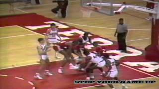1987 Washington, DC City Championship Highlights - Dunbar 91, DeMatha 85.