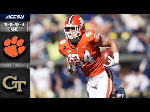 Clemson vs. Georgia Tech Condensed Game | 2020 ACC Football