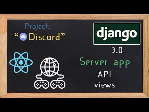 Django and ReactJS together - Server app api views  | 10 thumbnail