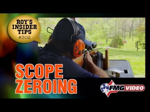 Scope Zeroing
