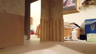 How to wallpaper the Beacon Hill dollhouse