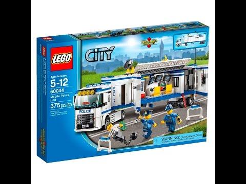 Vidéo LEGO City 60044 : L'unité de police mobile
