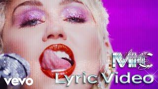 Miley Cyrus - Midnight Sky (Lyric Video)