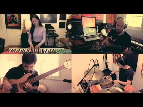 Quarantine session! All parts recorded virtually to bring you a beautiful cover of this song Pasarero.