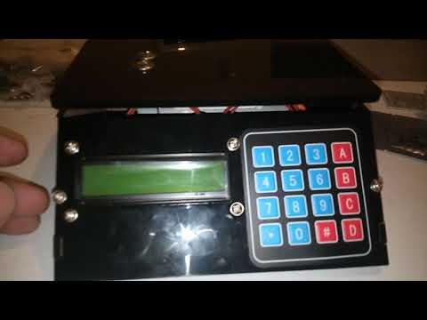 Presentación del fabuloso kit para armar Balanza electrónica