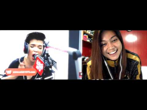 "KZ Tandingan Covers ""Rolling In The Deep"" (Adele) LIVE On Wish 107.5 Bus Reaction"