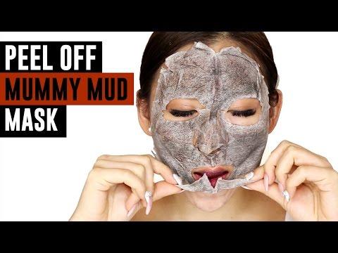 Mask ng wrinkles sa paligid ng mga mata na may isang protina