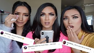 READING MEAN COMMENTS | HILARIOUS!! YOUNG COUTURE