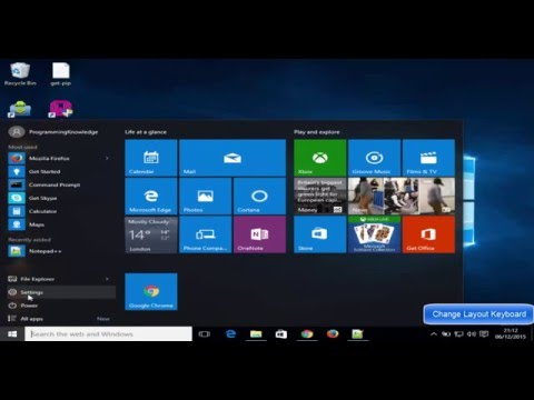 Windows 10 : How to Change Keyboard Layout