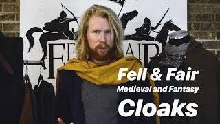 Choosing A Medieval Or Fantasy Cloak/Cape