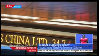 KTN Prime: Stocks at London stock Exchange drop by 4.3% as Donald Trump gets announced, 9/11/16