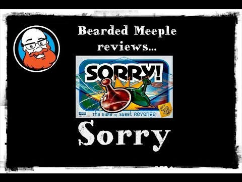 Bearded Meeple reviews Sorry!
