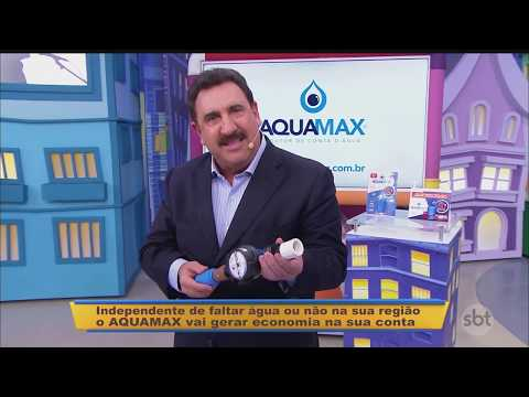 Aquamax no SBT - Programa do Ratinho