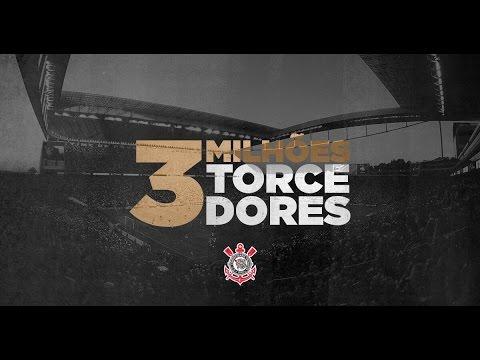 3 milhões de torcedores na Arena Corinthians