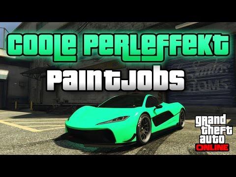 GTA 5 Online   4 COOLE PERLEFFEKT PAINT JOBS   RARE PAINTJOBS   Froggy, Sweet Orange, Joker   IDzock