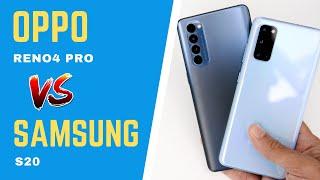 OPPO Reno4 Pro vs Samsung Galaxy S20: Midrange vs Flagship?