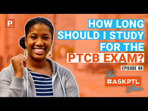 How To Study For The PTCB Exam 2020 l Pharmacy Technician ...
