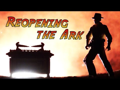 """Re-creating the Amazing Ark Opening in """"Raiders of the Lost Ark"""""""