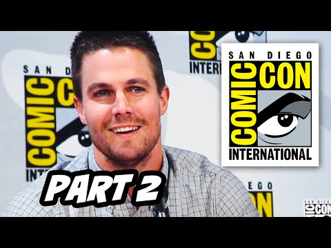 Comic Con 2014 Cast Arrow Season 3 Parte 2