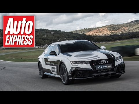 Self-driving Audi RS7 takes us for a ride