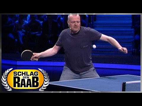 Spiel 8: Tischtennis - Schlag den Raab 52