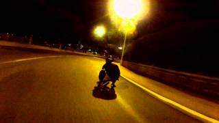 preview picture of video 'Longboard GoPro Moyenne corniche, Nice France'