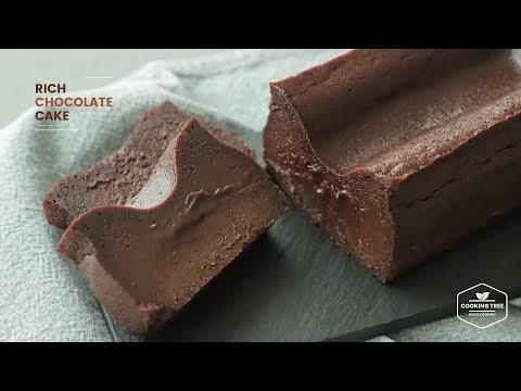 밀가루 없이~ 초콜릿 케이크 만들기 : Flourless Rich Chocolate Cake Recipe | Cooking tree