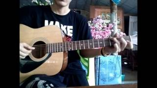 Beautiful in white cover acoustic guitar by moohaytr16