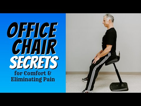 5 Secrets to Make Your Office Chair Comfortable & Pain Free