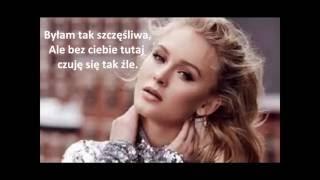 Zara Larsson Mnek Never Forget You  Tłumaczenie Polskie