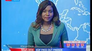 President Uhuru Kenyatta graces KDF recruits parade in Eldoret