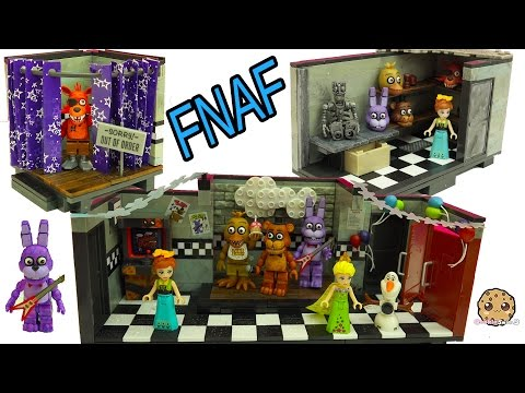 Five Nights At Freddy's FNAF Show Stage, Office Playsets +