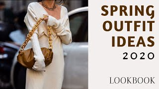 Spring Outfits Lookbook | Red Fashion Chic