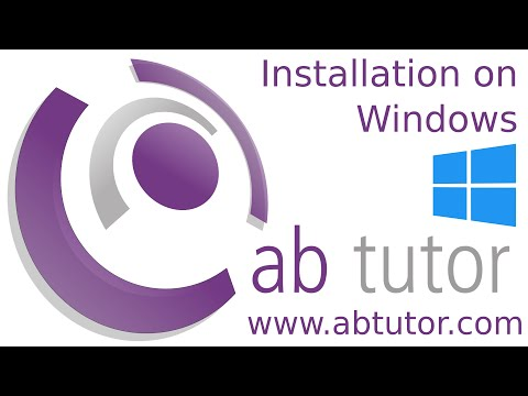 Installing AB Tutor v9 on Windows