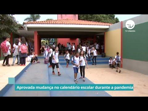 Aprovada mudança no calendário escolar durante a pandemia - 01/09/2021