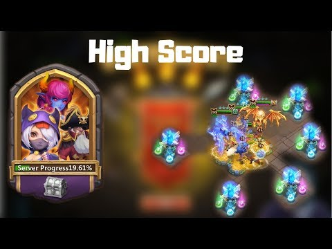 Ember army  | Best score | Hero and Base setup | Castle Clash