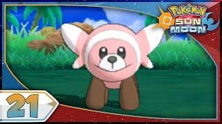 Stufful  - (Pokémon) - Pokémon Sun And Moon - Part 21 | Stufful & Route 8! [NEW Nintendo 3DS 100% Walkthrough]